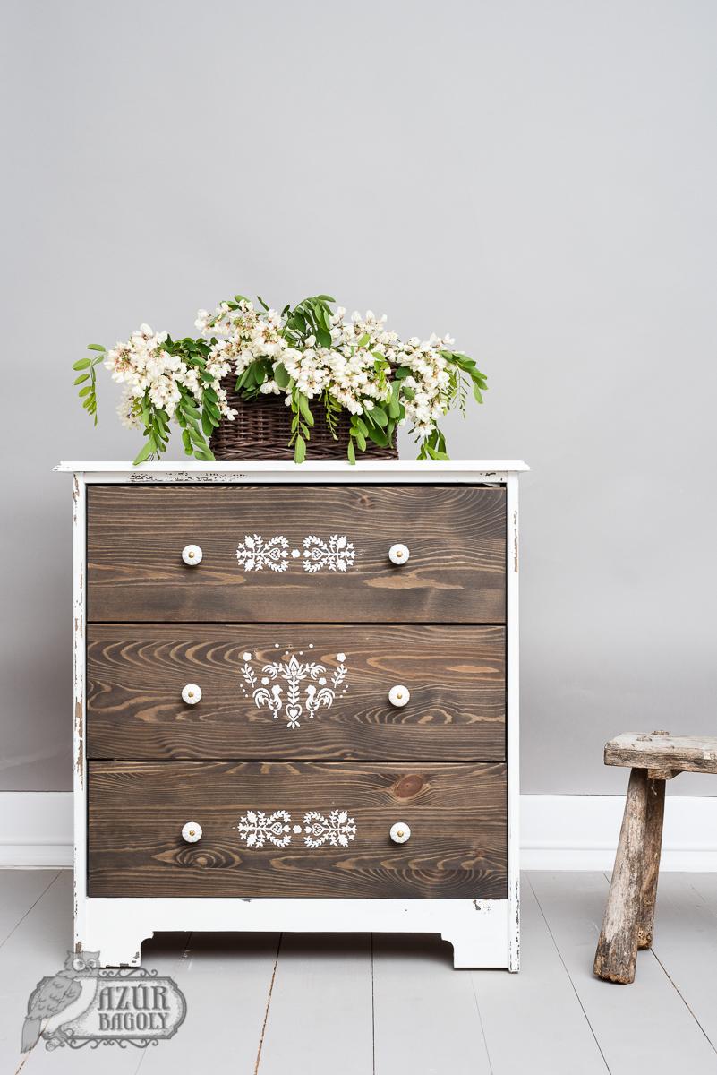 IKEA-hack - rusztikus fenyőbútor - parasztbútor - Azúr Bagoly