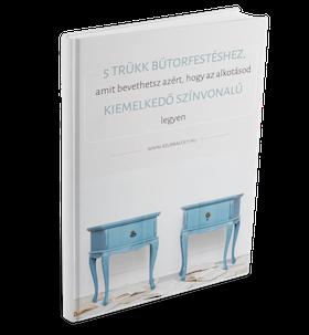 bútorfestés - 5 trükk a színvonalas végeredményhez - e-könyv - Azúr Bagoly
