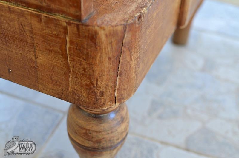 a fatapasz felvitele előtt tisztítsd meg alaposan a bútor felületét