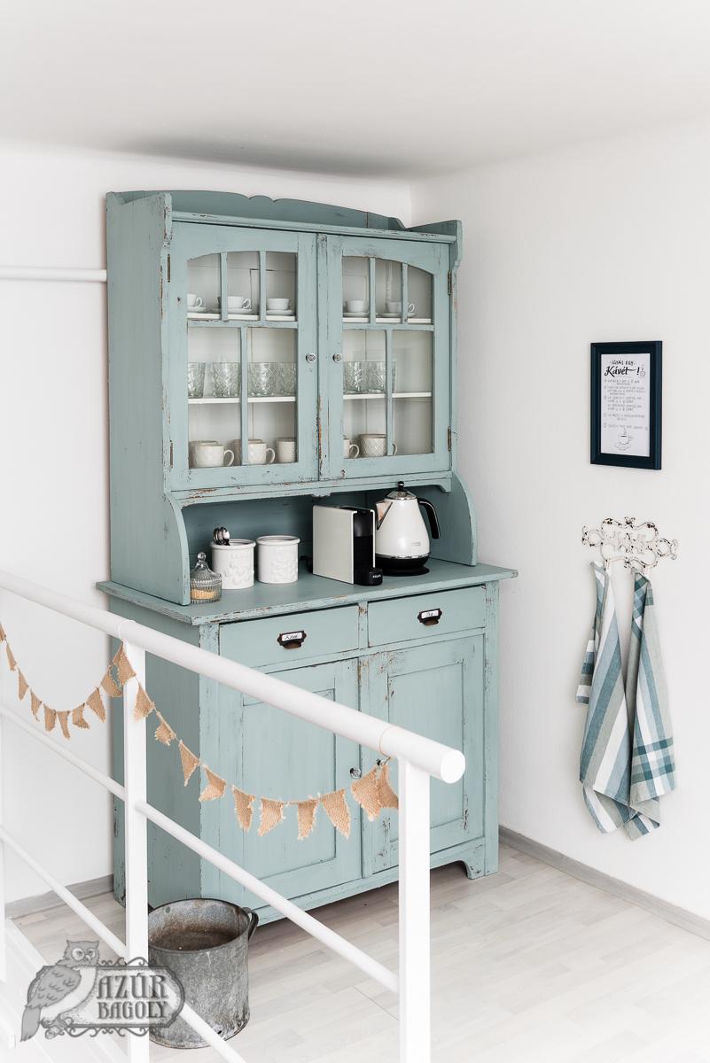 a régi szekrény a felújítás után még sokáig örömmel használható