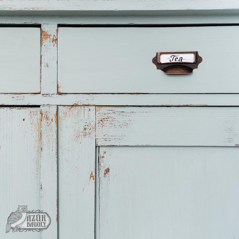 szekrényfelújítás vintage stílusban