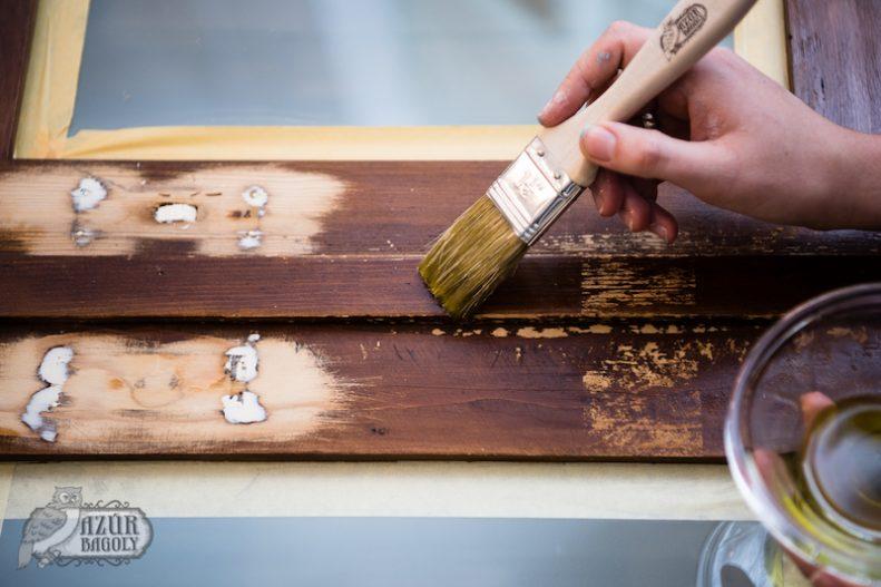 szekrényfelújítás kétféle módszerrel