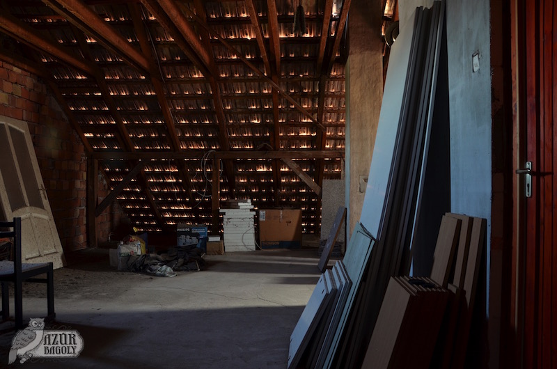 Padlástér felújítás előtt