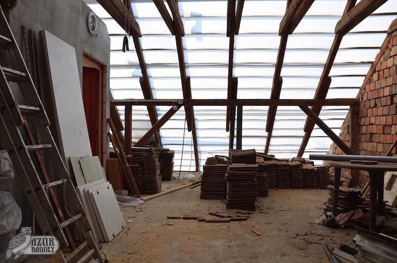Padlástér tetőszigetelés