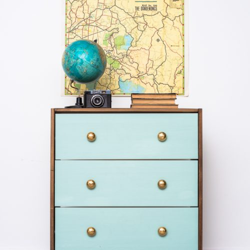 bútor felújítás ötletek – IKEA-hack – RAST komód – Azúr Bagoly