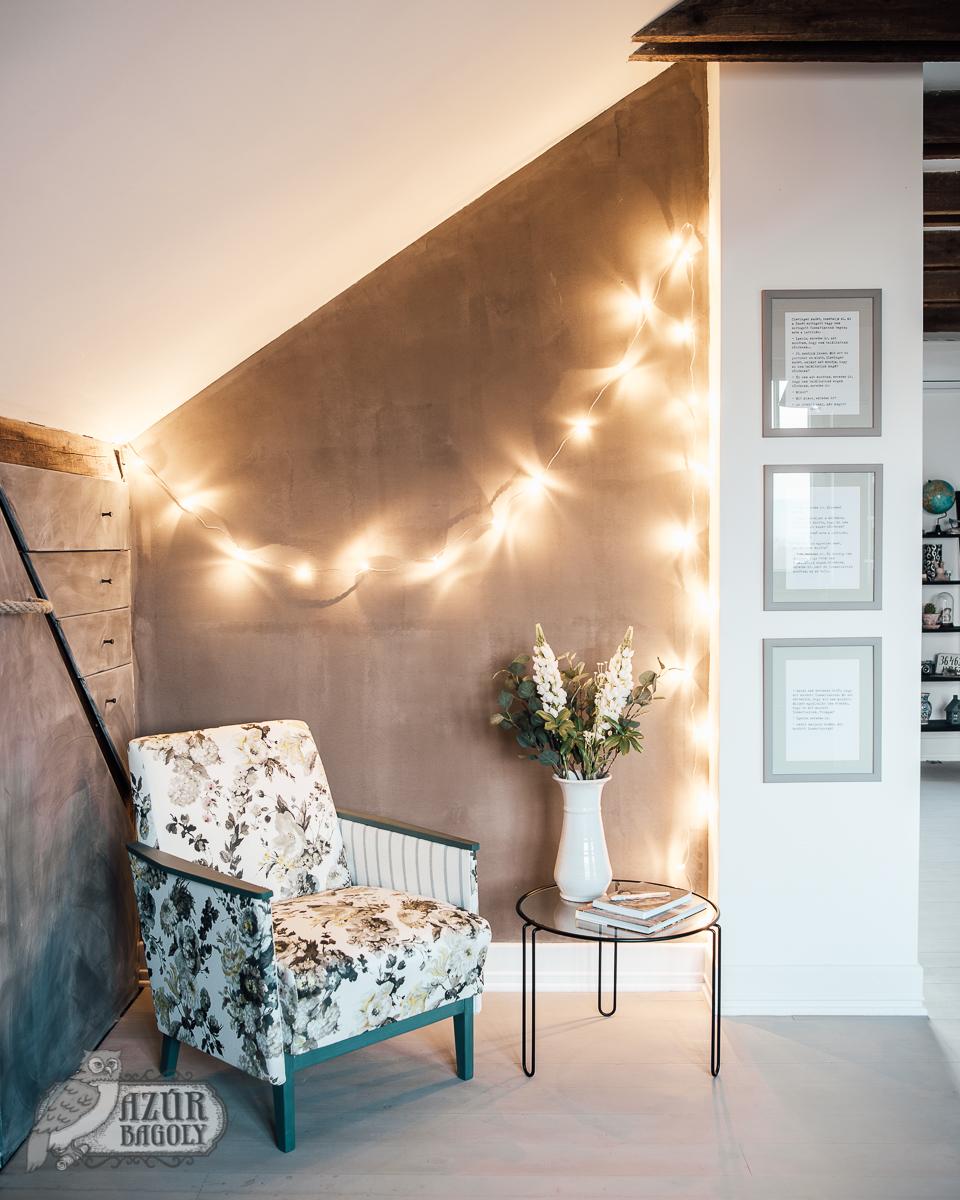 falfestés - természetes falfesték - vintage - környezetbarát falfesték - azúrbagoly - tejfesték