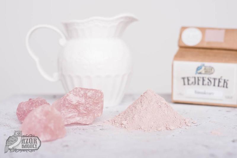 Azúr Bagoly Tejfesték – Rózsakvarc – bútorfesték
