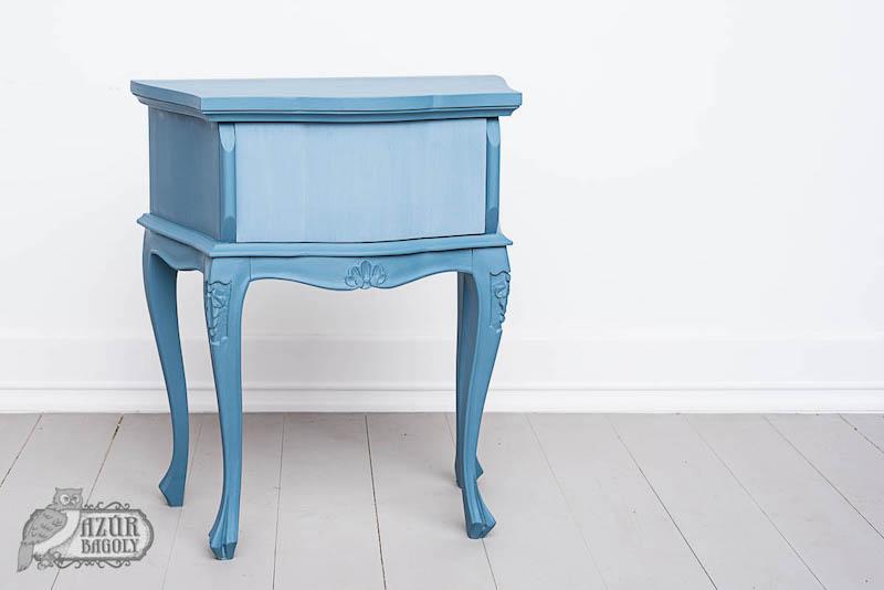 bútorfestés házilag: a harmadik lépés a felületzárás – Azúr Bagoly