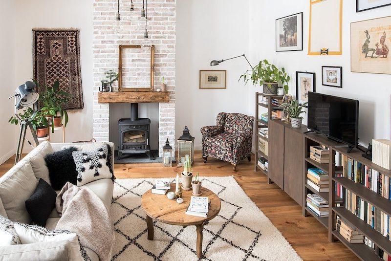a bútorfestés helye a lakberendezésben