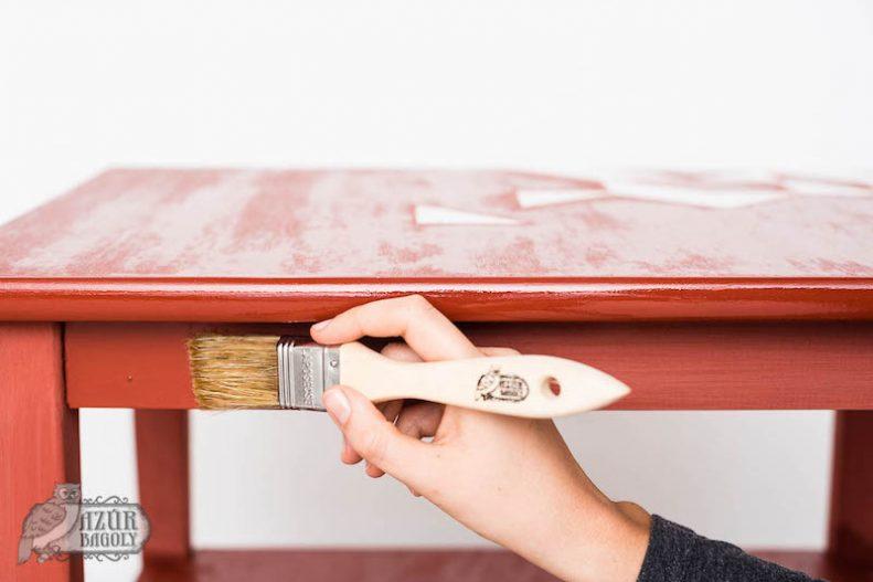 festett bútor olajozása - a kenderolaj használata - Azúr Bagoly