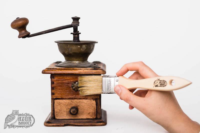 régi fa felület ápolása - a kenderolaj használata - Azúr Bagoly