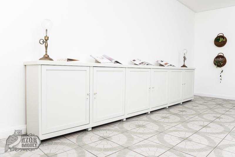 az MDF festése házilag is nagyon szépen kivitelezhető a megfelelő festék használatával - Azúr Bagoly Tejfesték