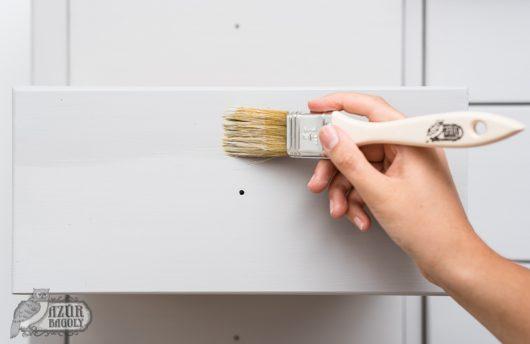 a lakkozás menete - bútorlakk használata - Azúr Bagoly