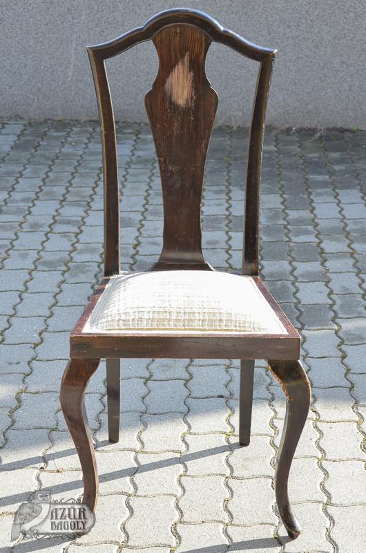 szék-felújítás házilag - Azúr Bagoly