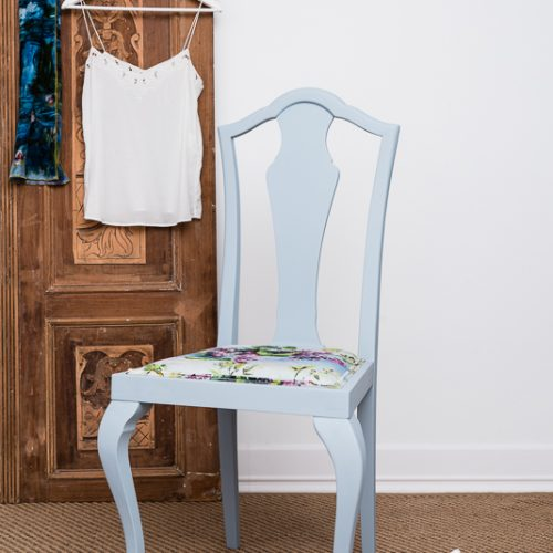 szék vintage stílusban