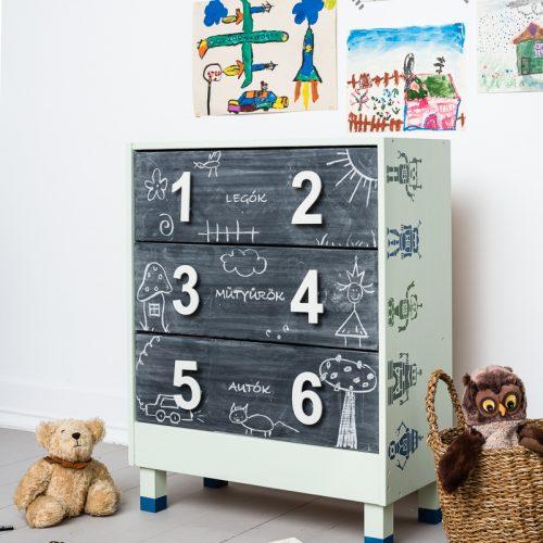 gyerekszoba kreatív bútor
