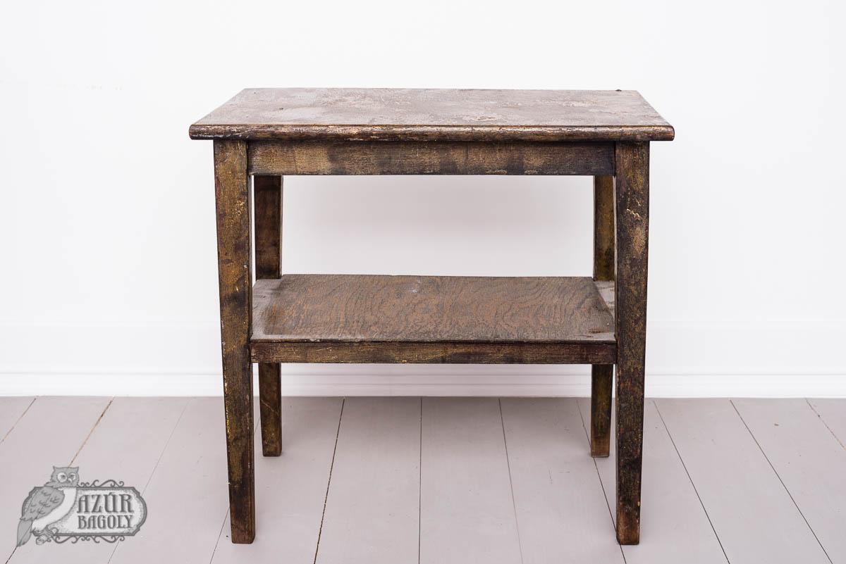 bútorfestés – bútorfelújítás – asztal – Azúr Bagoly