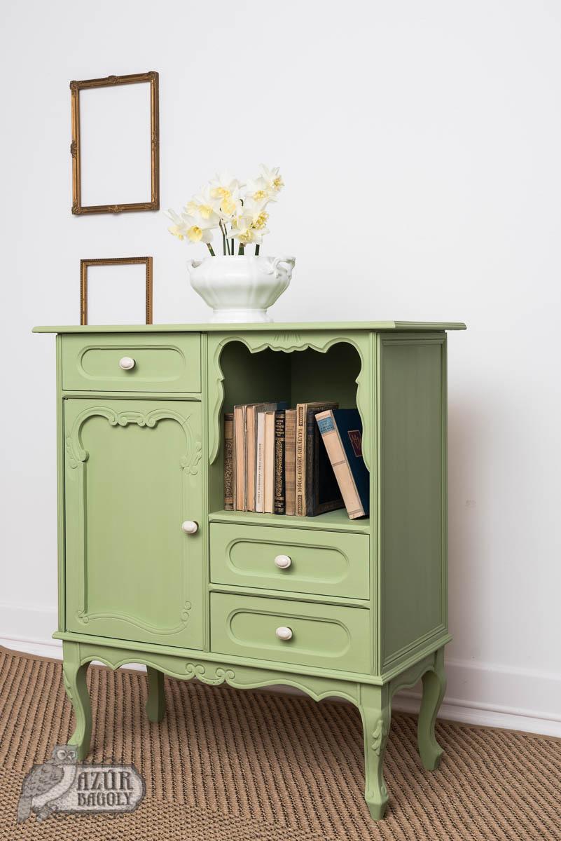 bútorfesték – zöld – Azúr Bagoly Tejfesték – Pisztácia